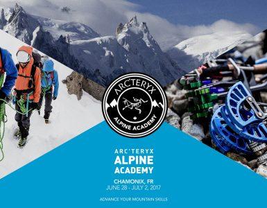 Arcteryx Alpine Academy 2017