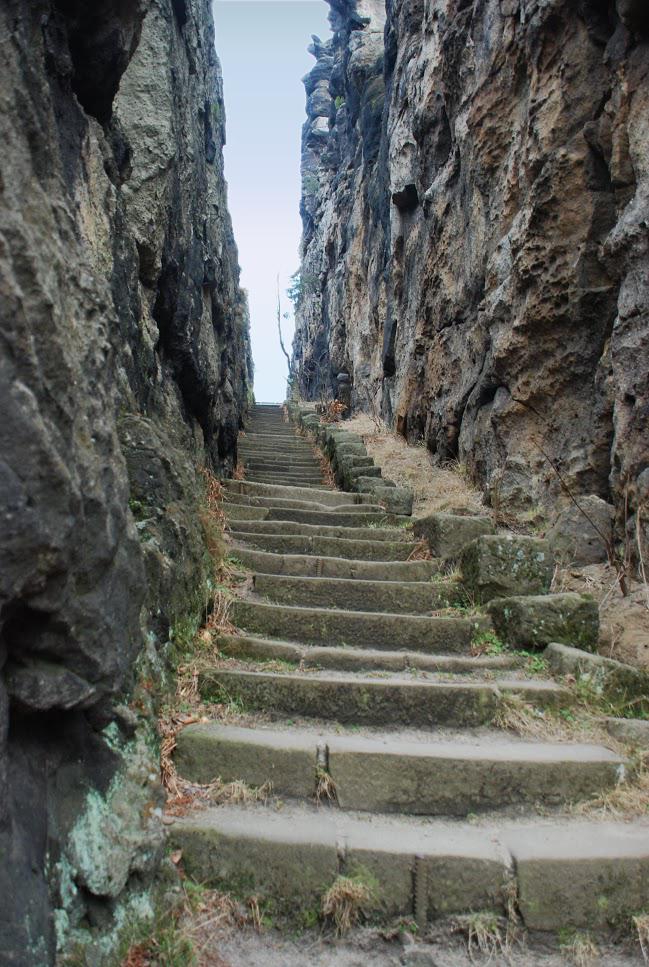 Miasteczko skalne Jonsdorf - Góry Łużyckie