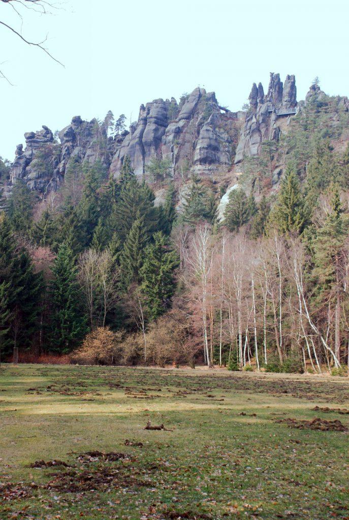 Nonnsenfelsen - Skały Zakonnic - Góry Łużyckie