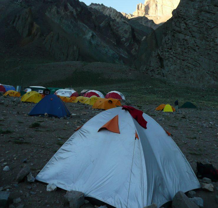 Namiot w Argentynie