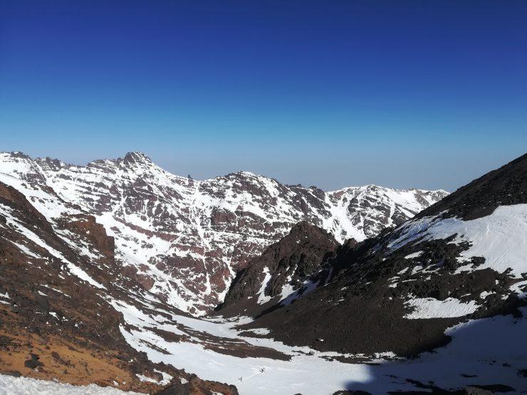 Okolice przełęczy Tizi'n'Tounbkal