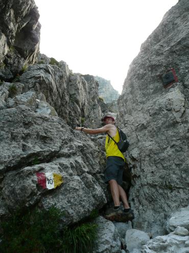 Przed ferratą Alpy Bergamskie