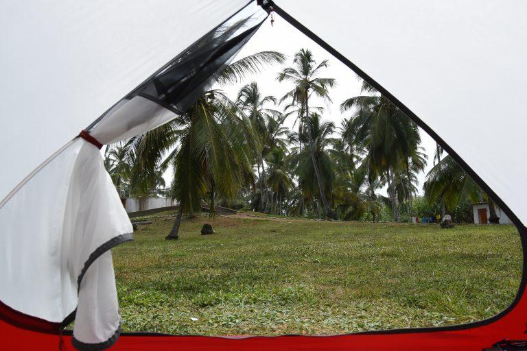 Namiot prawie idealny