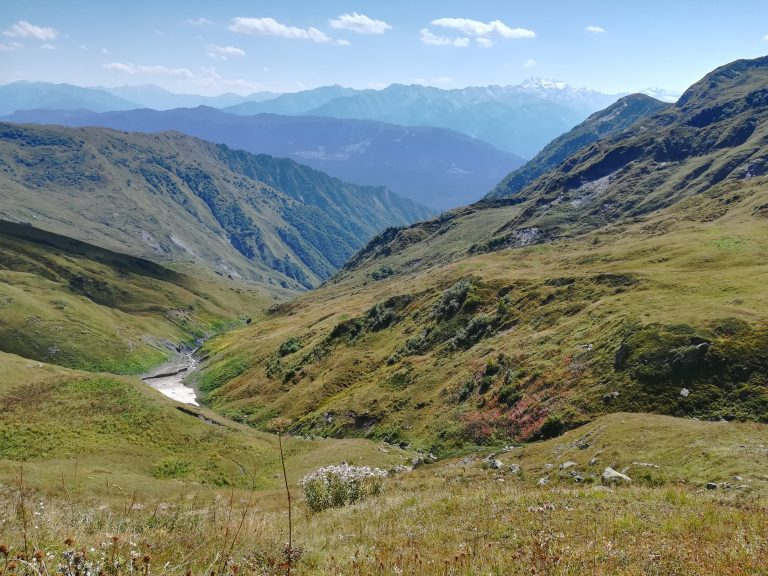 Kaukaski treking wSwanetii