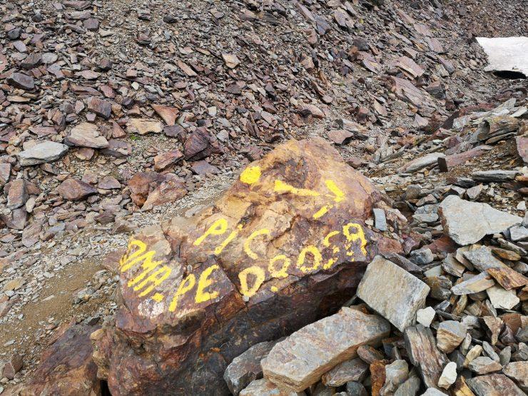szlak, kamienie, oznaczenie