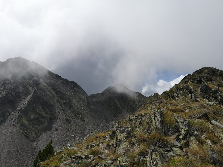 góry, chmury,szlak
