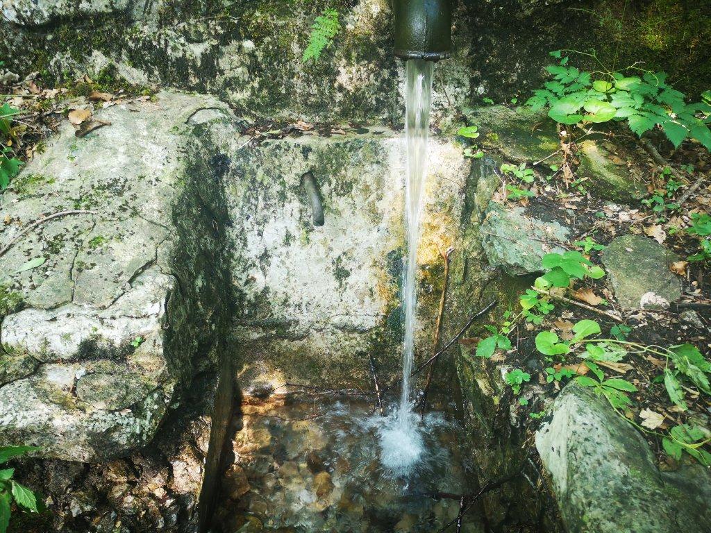 źródło, woda, kamień, kran
