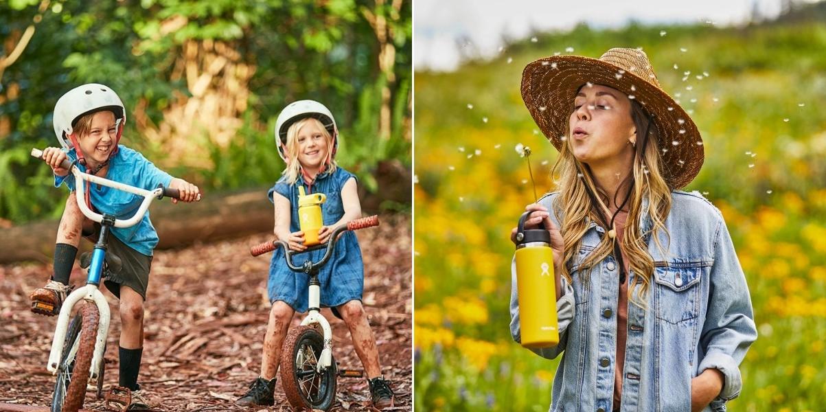 Butelki Hydro Flask kochają dzieci idorośli. Daj się zarazić tą miłością