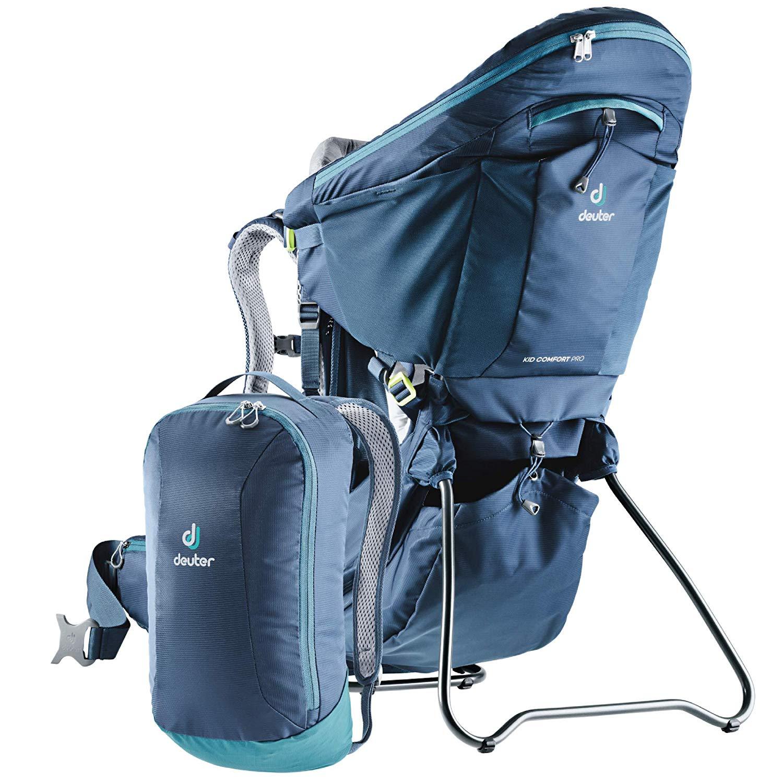 Deuter Kid Comfort Pro - oprócz nosidełka dodatkowy plecak
