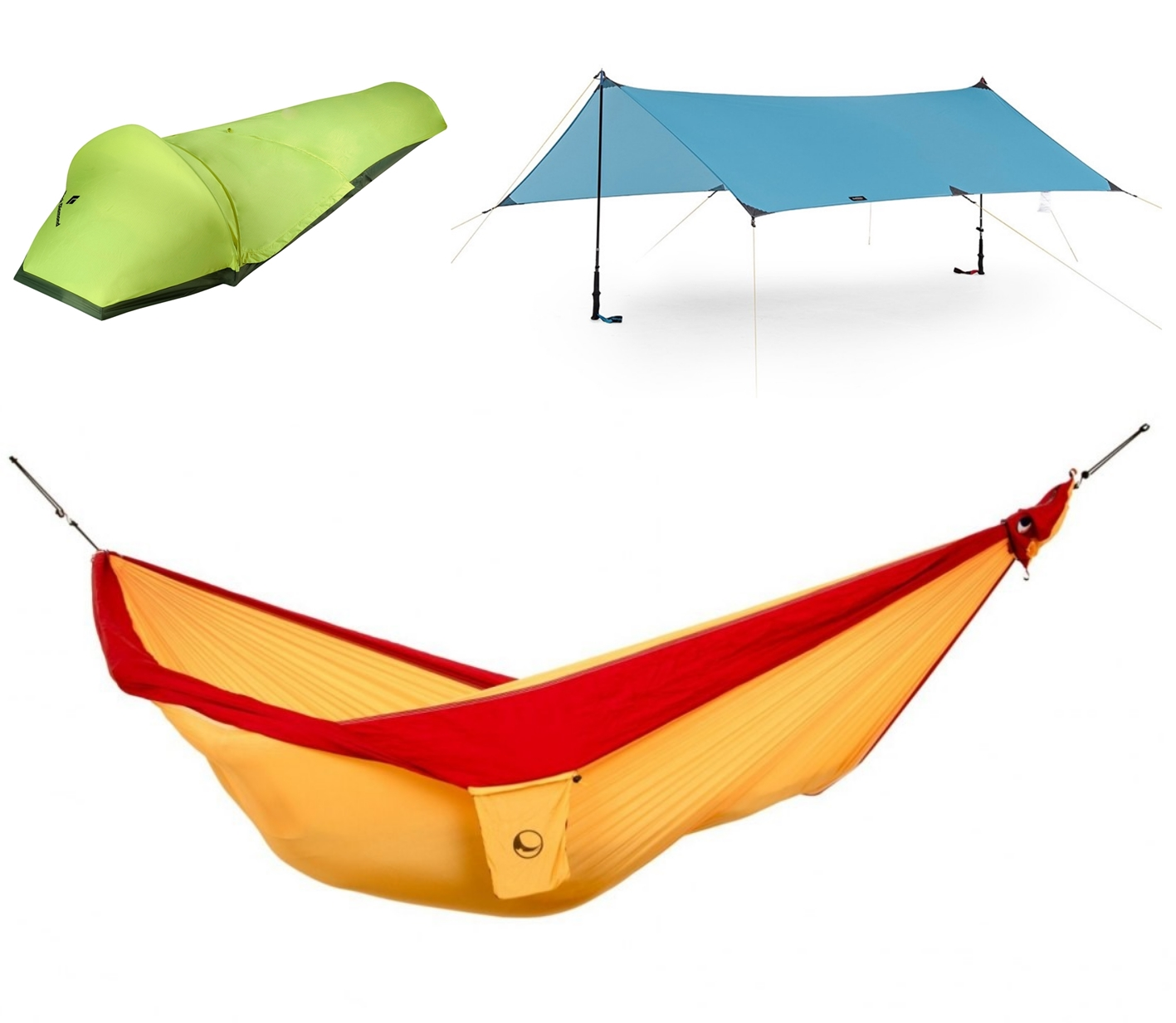 Płachta, tarp, hamak - alternatywy dla namiotu
