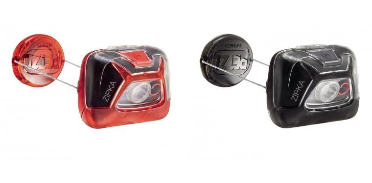 Zipka marki Petzl - kompaktowa latarka zmechanizmem zwijającym sznurek
