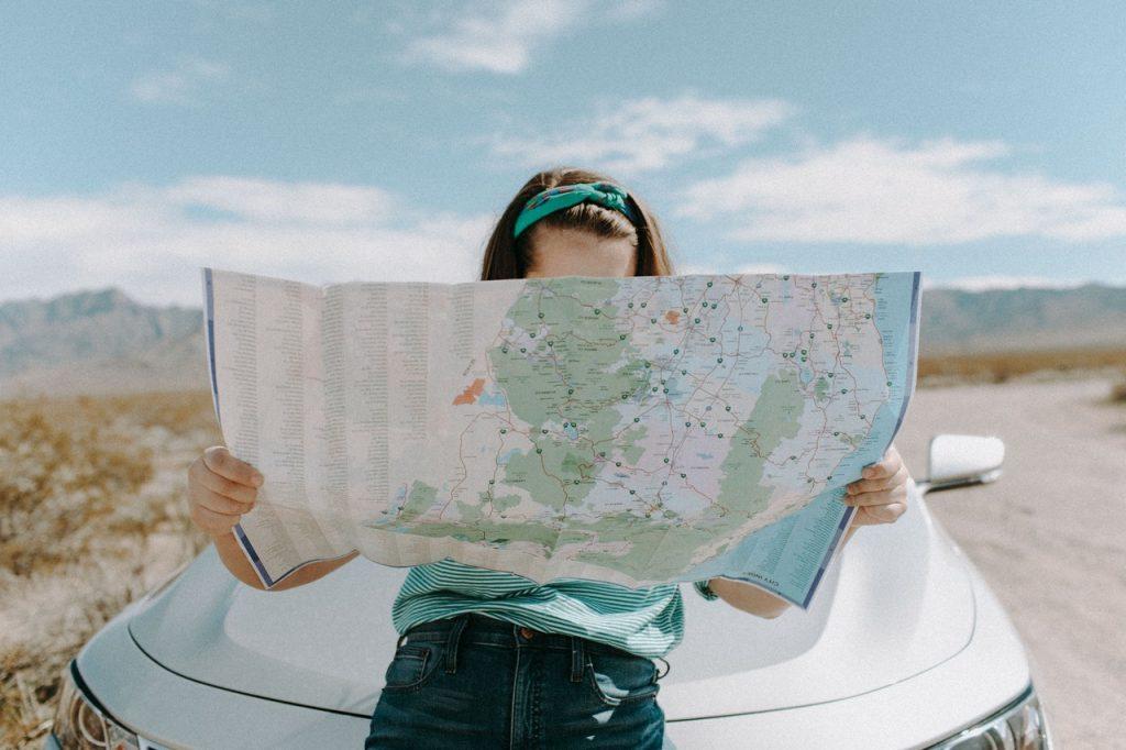 Znajomość czytania map tocenna umiejętność, gdysię podróżuje wpojedynkę