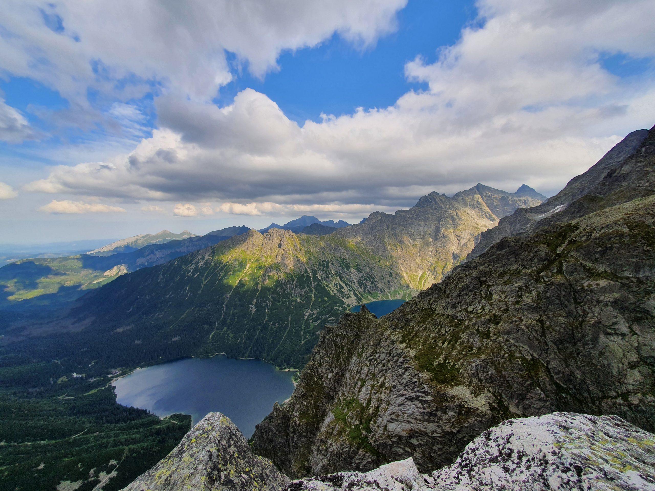 Po kilku minutach mogliśmy już wspólnie nasycić nasze oczy wspaniałym widokiem naokoliczne szczyty istawy