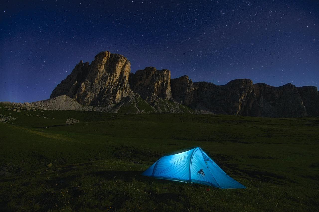 Wybór namiotu niejest prosty, aletakie okoliczności przyrody wynagradzają wszystko