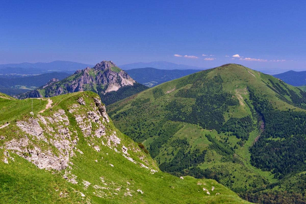 Jednak jaka trasa byniebyła, Góry Słowacji zawsze są warte polecenia