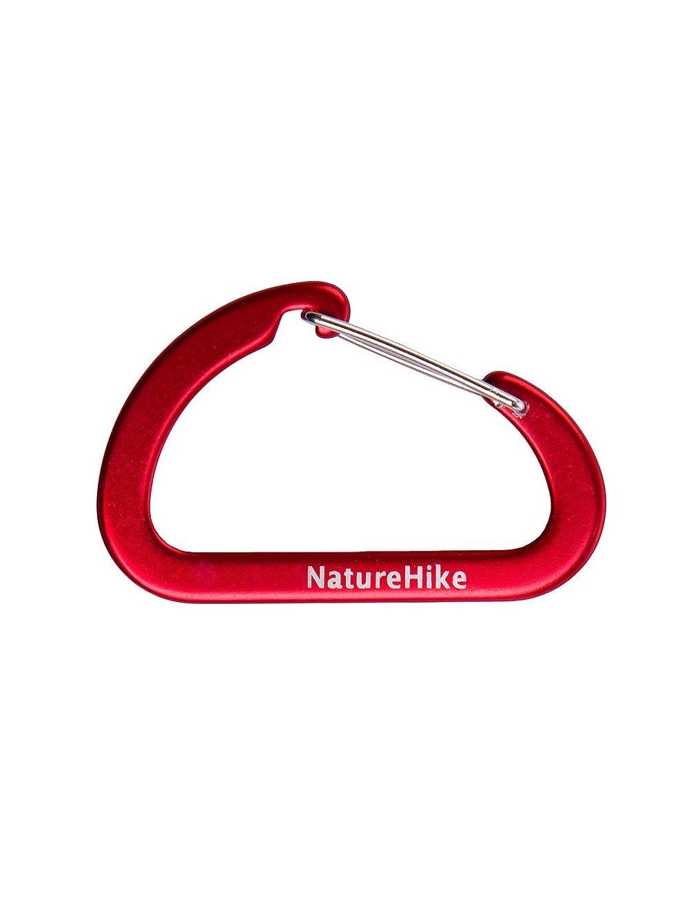 NATUREHIKE Karabinek PANERAI 6,5 cm (2 szt.)
