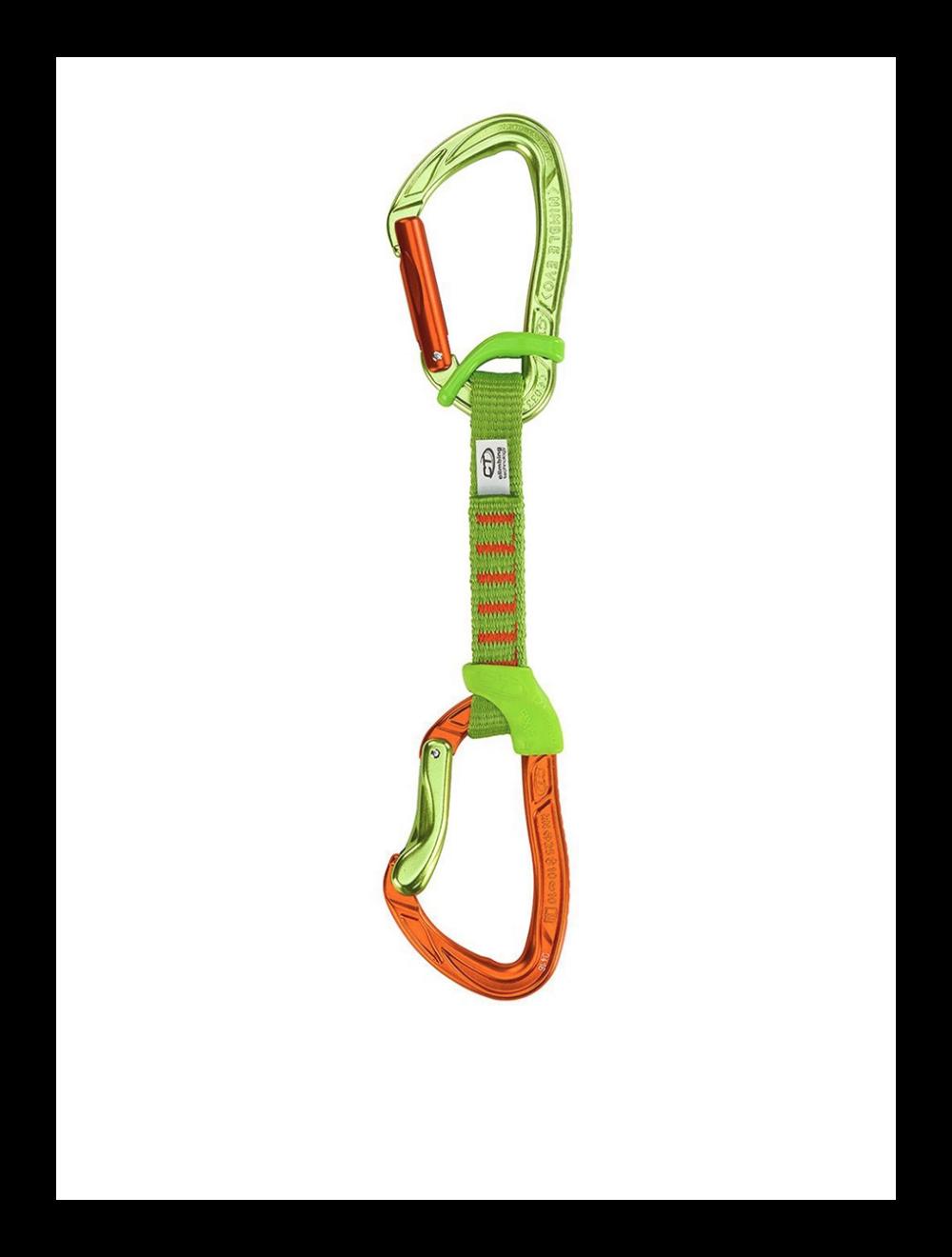 Climbing Technology Ekspres NIMBLE FIXBAR SET NY ora/grn 12cm