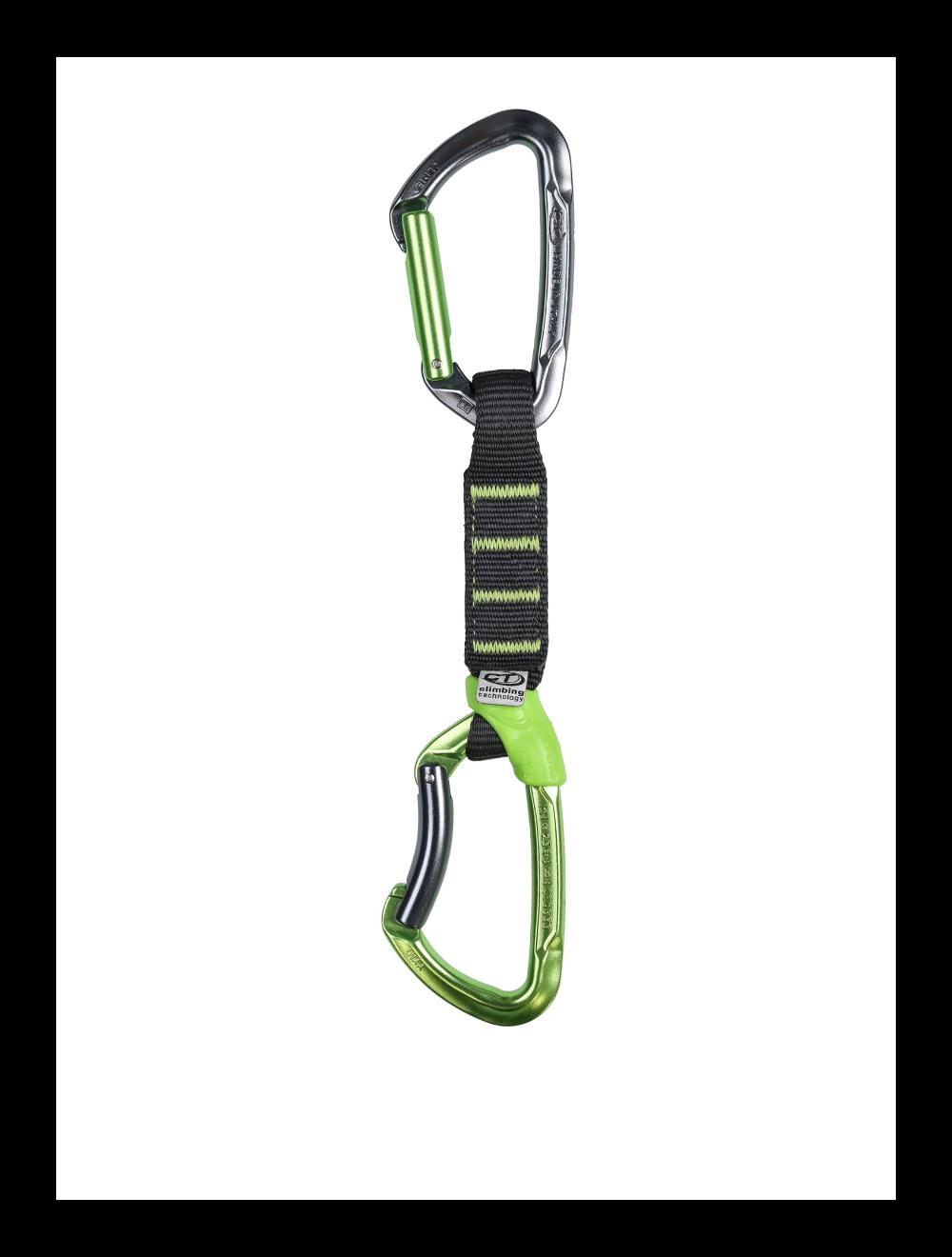 Climbing Technology Ekspres LIME SET PRO NY anodized 12cm