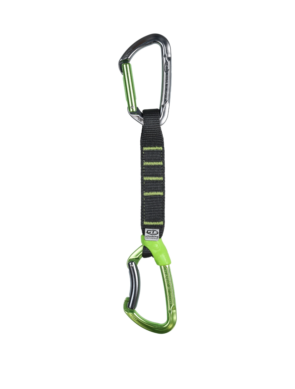 Climbing Technology Ekspres LIME SET PRO NY anodized 17cm