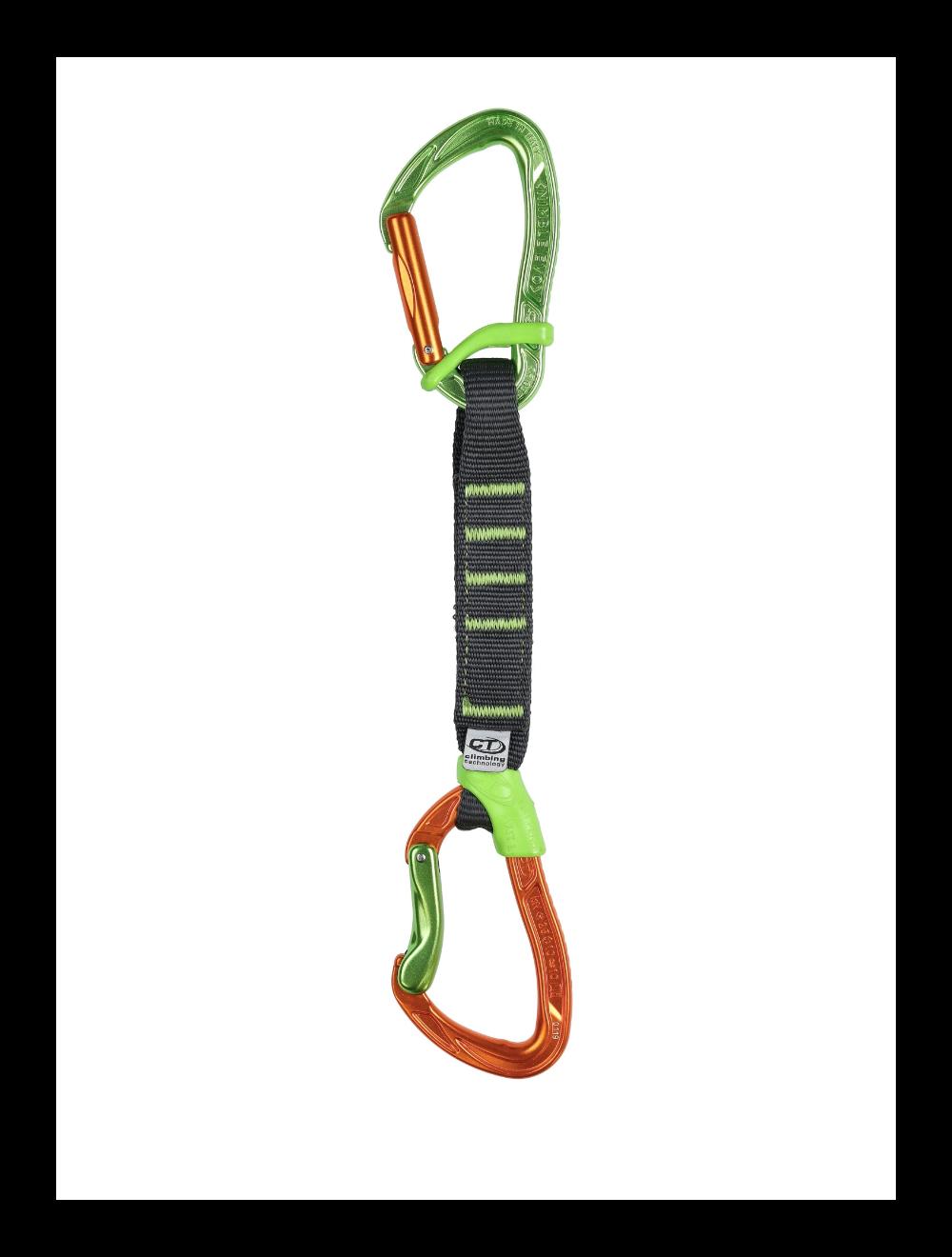 Climbing Technology Ekspres NIMBLE FIXBAR SET NY PRO ora/grn 17cm