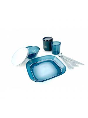 GSI Zestaw naczyń INFINITY 1 PERSON TABLESET BLUE