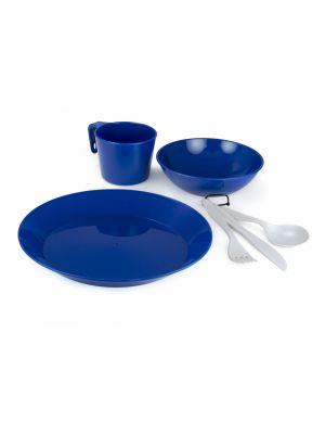 GSI Zestaw naczyń CASCADIAN 1 PERSON TABLE SET- BLUE