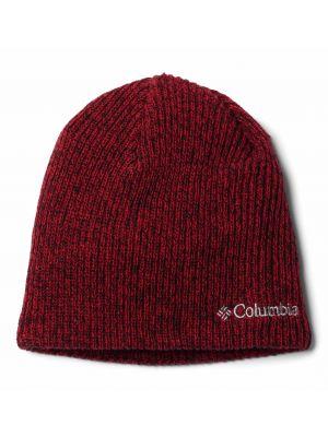 COLUMBIA Czapka WHIRLIBIRD WATCH CAP BEANIE Mountain Red Black Marled