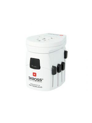 SKROSS Adapter uniwersalny PRO WORLD&USB