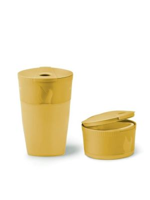 LIGHT MY FIRE Kubek składany PACK-UP-CUP BIO musty yellow