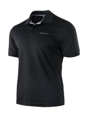 HI-TEC Koszulka polo męska SITE black silver