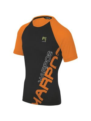 KARPOS Koszulka męska MOVED EVO JERSEY orange fluo black