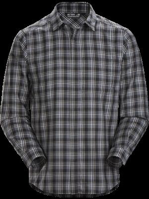 ARCTERYX Koszula męska BERNAL LS SHIRT distorted pixel