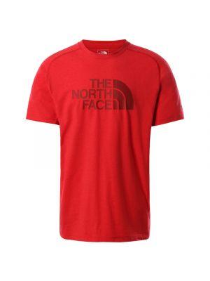 THE NORTH FACE Koszulka męska WICKER GRAPHIC CREW ss tnf red heather