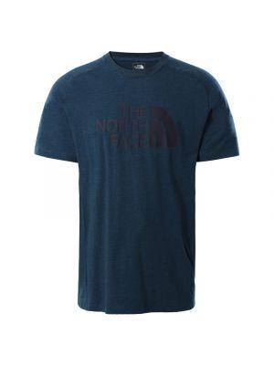 THE NORTH FACE Koszulka męska WICKER GRAPHIC CREW ss monterey blue heather