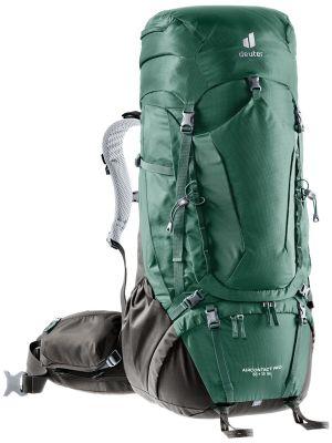 DEUTER Plecak trekkingowy damski AIRCONTACT PRO 55 + 15 SL seagreen-coffee