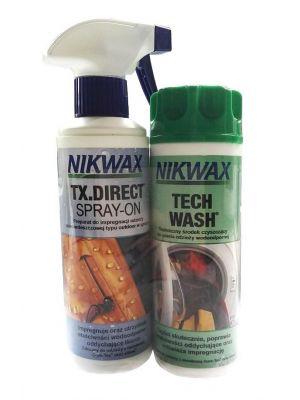 NIKWAX Zestaw TWIN: TECH WASH + TX.DIRECT SPRAY ON