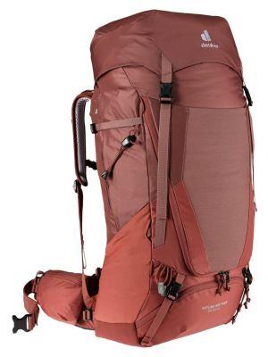 DEUTER Plecak turystyczny damski FUTURA AIR TREK 55 + 10 SL redwood-lava
