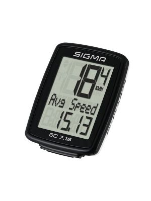SIGMA Licznik rowerowy BC 7.16