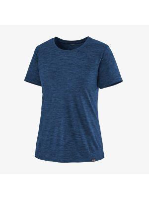 PATAGONIA Koszulka damska CAPILENE COOL DAILY viking blue navy blue x-dye