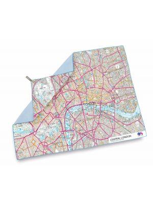 LIFEVENTURE Ręcznik SOFTFIBRE OS MAP TOWEL Central London