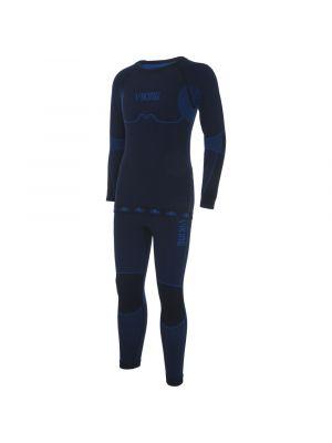 VIKING Bielizna termoaktywna dziecięca RIKO KIDS SET 500/14/3030 black/blue