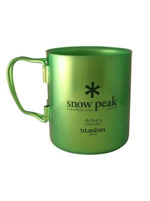 SNOW PEAK Kubek TITANIUM SINGLE MUG 450