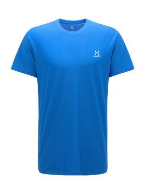 HAGLOFS Koszulka męska L.I.M TECH TEE ss storm blue