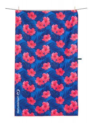 LIFEVENTURE Ręcznik RECYCLED SOFTFIBRE PRINTED TOWEL oahu