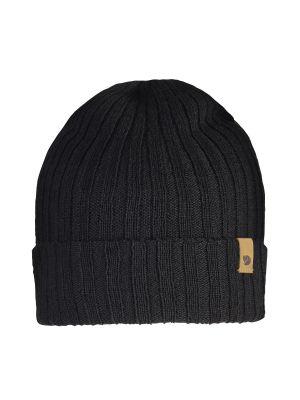 FJALLRAVEN Czapka BYRON HAT THIN black