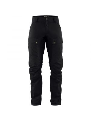 FJALLRAVEN Spodnie męskie KEB TROUSERS reg black