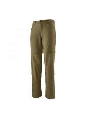 PATAGONIA Spodnie damskie QUANDARY CONVERTIBLE PANTS Regular zielone