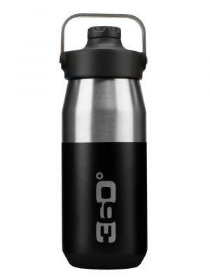360 DEGREES Butelka SIP CAP VACUUM INSULATED 550 ml black