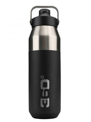 360 DEGREES Butelka SIP CAP VACUUM INSULATED 1l black