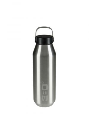 360 DEGREES Butelka VACUUM INSULATED NARROW MOUTH 750 ml silver